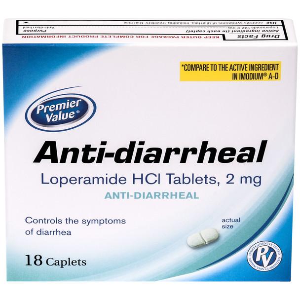 Premier Value Anti-Diarrheal - 18ct
