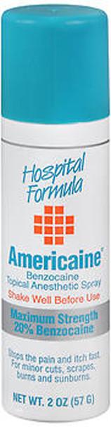 Americaine Benzocaine Topical Anesthetic Spray - 2 oz