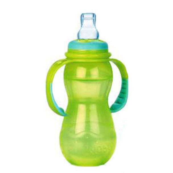 Nuby Stage 3 Bottle, Asst, 11 oz - 1 Pkg