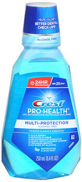 Crest Pro-Health Oral Rinse Refreshing Clean Mint - 8.3 oz