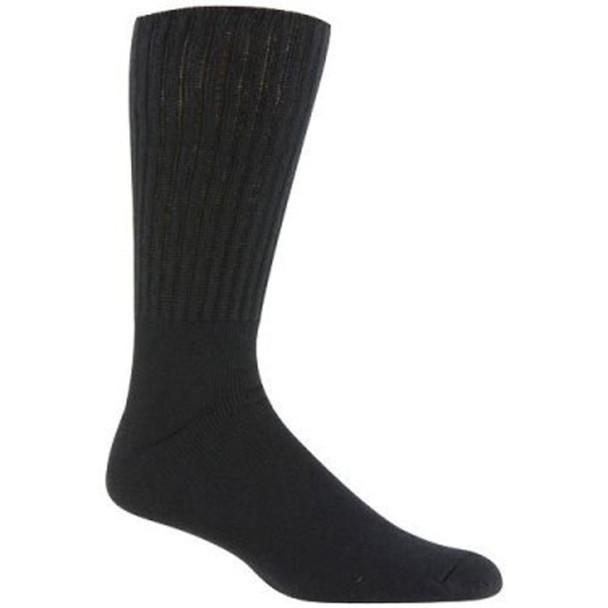 Men's Therapeutic Sock, Black - 1 Pkg