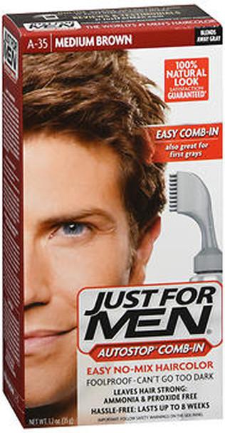 Just For Men AutoStop Formula Haircolor Medium Brown A-35