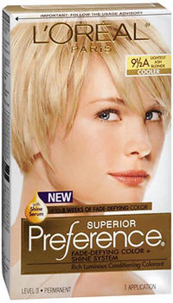 L'Oreal Superior Preference - 9-1/2A Lightest Ash Blonde (Cooler)
