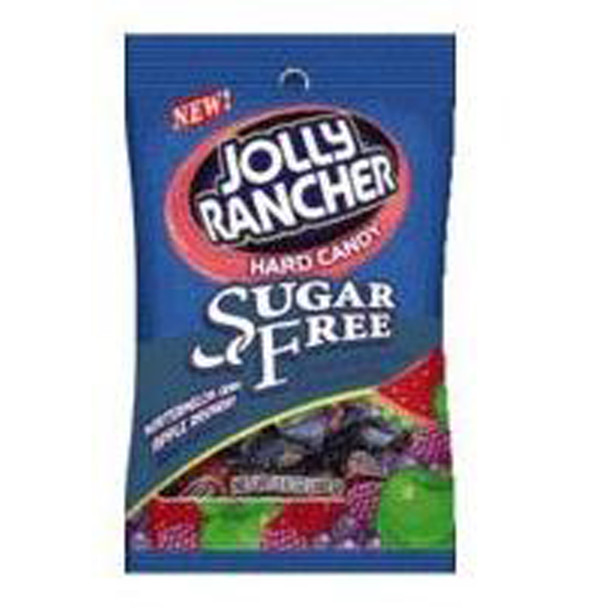 Jolly Rancher Sugar Free, Assorted, 3.60 oz - 1 Bag
