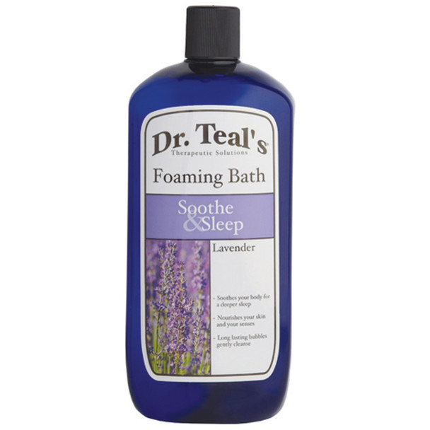 Dr. Teals Foaming Bath, Soothe & Sleep Lavender, 34 oz