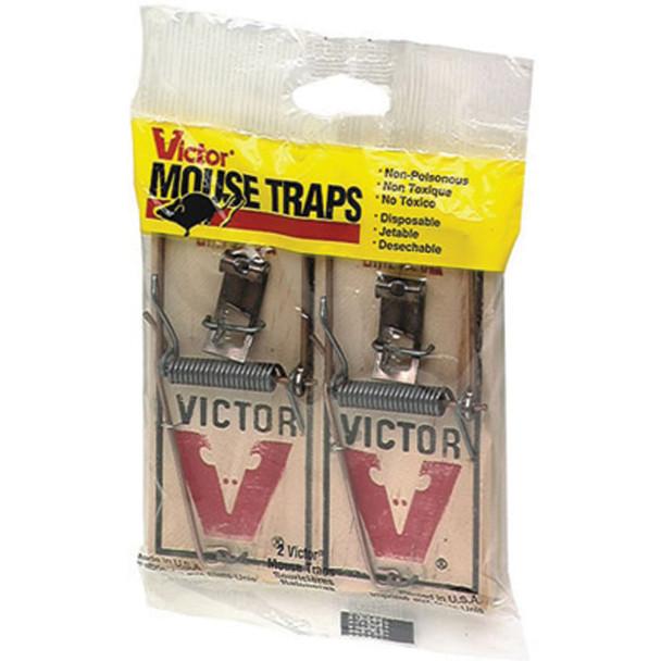 Victor Mouse Traps - 1 Pkg