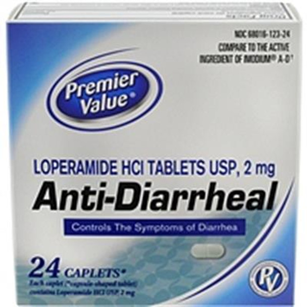 Premier Value Anti-Diarrheal - 24ct
