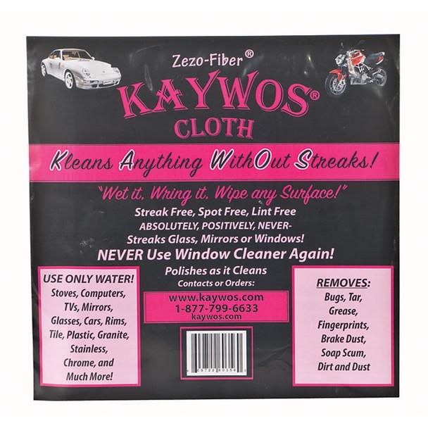 """Kaywos Cloth, White, 16 X 15"""" - 1 Pkg"""