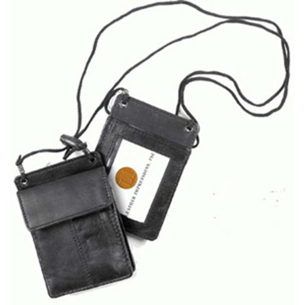 Passport Holder, Wallet, Black - 1 Pkg