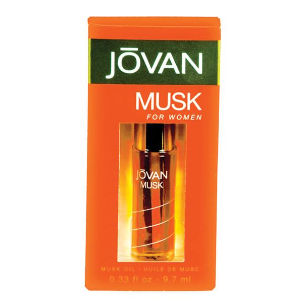 Jovan Musk Oil Woman Perfume, 0.33oz - 1 Pkg