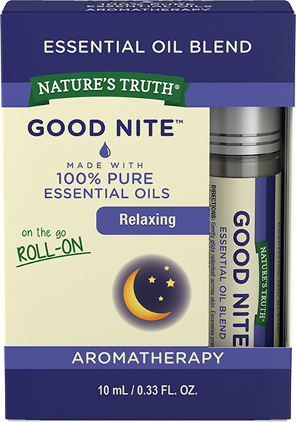 Nature's Truth Aromatherapy Essential Oil Blend Roll-On Good Nite - .33 oz