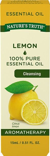 Nature's Truth Aromatherapy Essential Oil Lemon - .5 oz