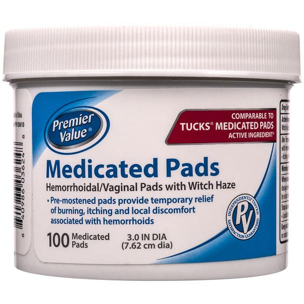 Premier Value Hygienic Pads - 100ct