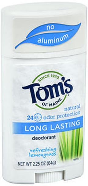 Tom's of Maine Natural Long-Lasting Deodorant Stick Lemongrass - 2.25 oz
