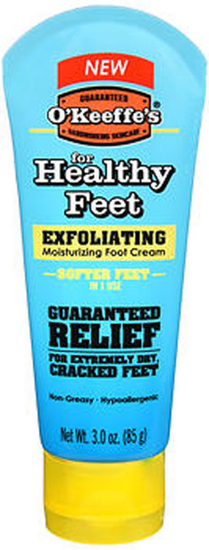 O'Keeffe's For Healthy Feet Exfoliating Moisturizing Foot Cream - 3 oz
