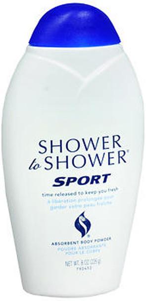 Shower to Shower Absorbent Body Powder Sport - 8 oz