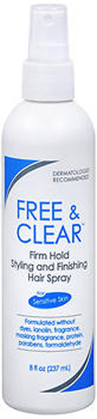 Free Clear Styling Finishing Hair Spray Firm Hold - 8 oz