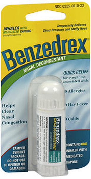 Benzedrex Nasal Decongestant Inhaler