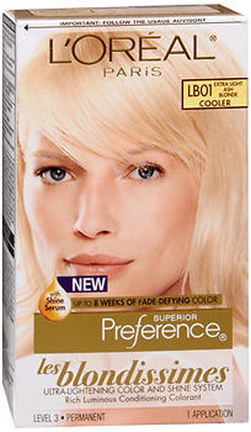 L'Oreal Superior Preference Les Blondissimes - LB01 Extra Light Ash Blonde