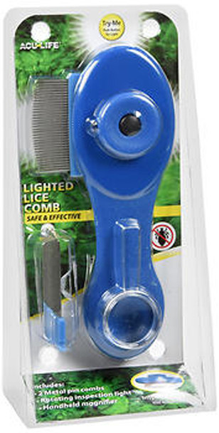 Acu-Life Lighted Lice Comb - Each