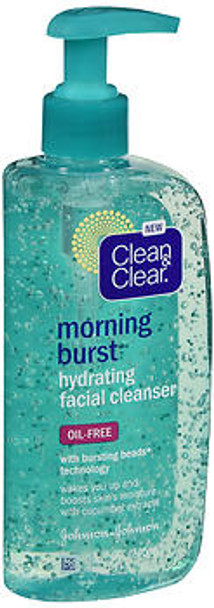 Clean & Clear Morning Burst Hydrating Facial Cleanser - 8 fl oz