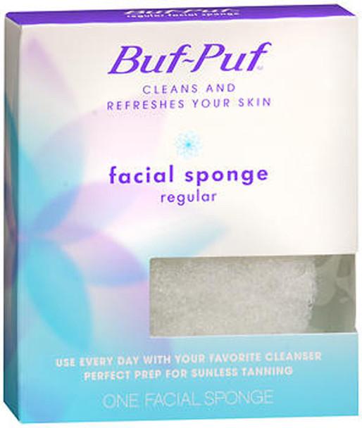 Buf-Puf Facial Sponge, Regular - 1 ea.