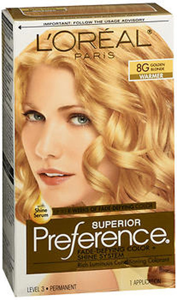 L'Oreal Superior Preference - 8G Golden Blonde (Warmer)