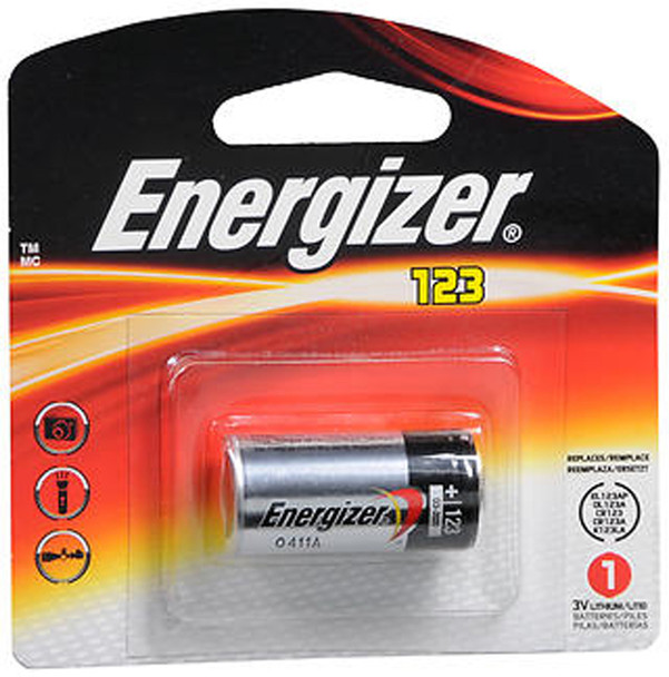 Energizer 123 Lithium Battery