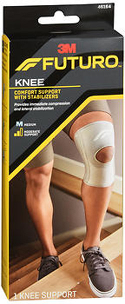 FUTURO Comfort Support With Stabilizers Knee Moderate Support Medium 46164