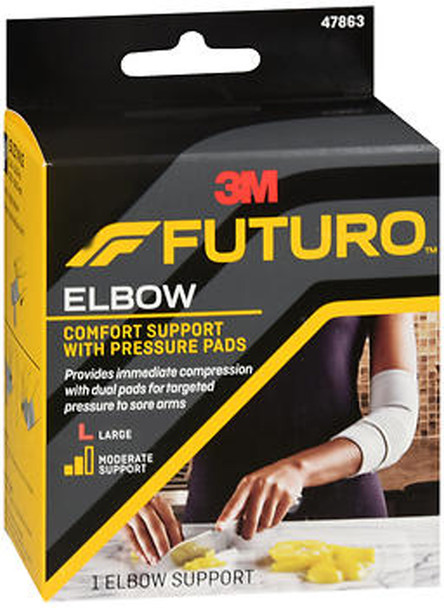 Futuro Elbow Support With Pressure Pads Large - Each