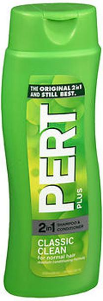 Pert Plus 2 In 1 Shampoo & Conditioner Classic Clean - 13.5 oz