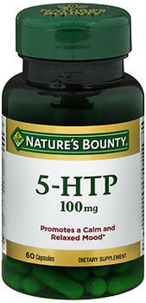 Nature's Bounty 5-HTP 100 mg Dietary Supplement Capsules - 60 ct
