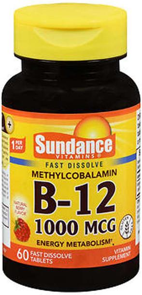 Sundance B-12 1000 mcg Fast Dissolve Tablets - 60 ct