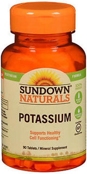 Sundown Naturals Potassium Mineral Supplement Tablets - 90 ct