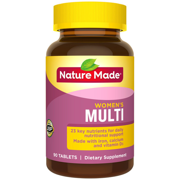 Nature Made Multi for Her Vitamin/Mineral - 90 Tablets