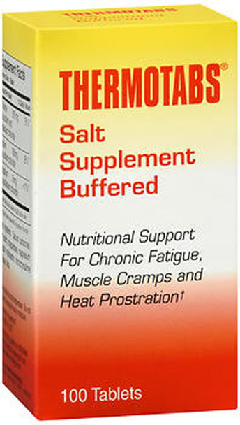 Thermotabs Salt Supplement Buffered Tablets - 100 ct