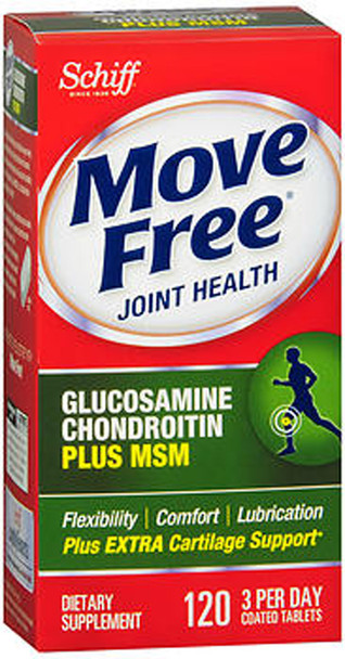 Schiff Move Free Advanced Tablets Plus 1500mg MSM - 120 Coated Tablets