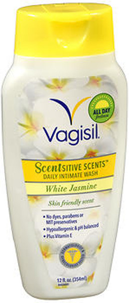 Vagisil Scentsitive Scents Daily Intimate Wash White Jasmine - 12 oz