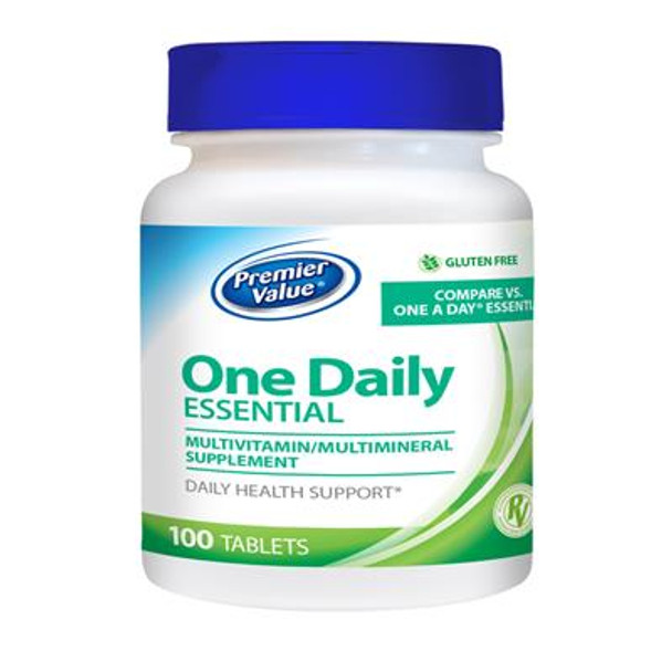 Premier Value One Daily Essential Multivitamin - Tablet 100 ct