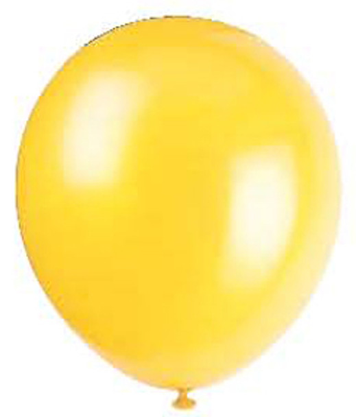 "12"" Balloon - Yellow, 12"""