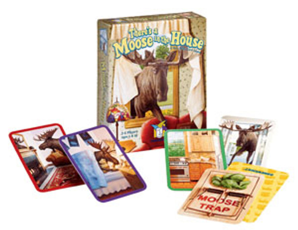 There's A Moose In House Card Game
