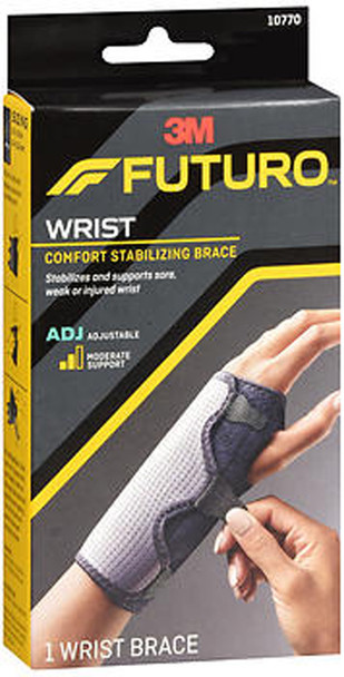 Futuro Reversible Splint Wrist Brace Adjust To Fit, Moderate - Each