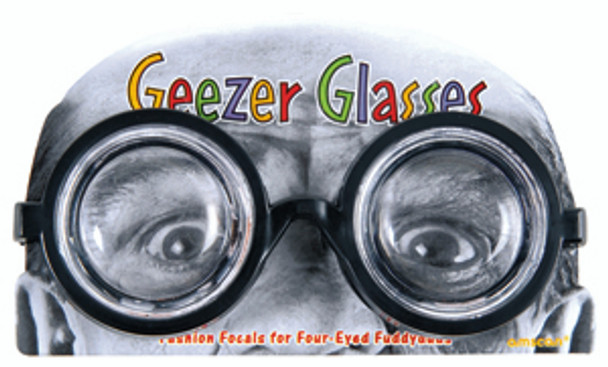 Geezer Glasses Party Favor
