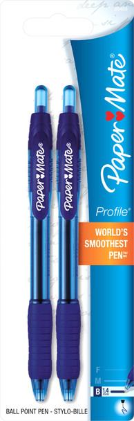 Profile Pen - Blue, 2 pk