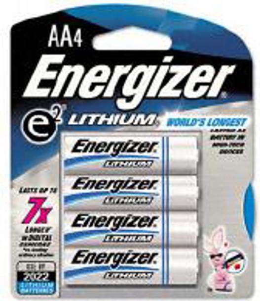 Energizer E2 Lithium Batteries  AA - 4 pk