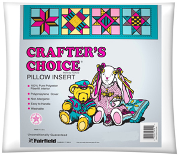 """Crafter's Choice Polyester Pillow Form - 18"""" x 18"""""""