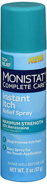 Monistat Complete Care Instant Itch Relief Spray - 2 oz