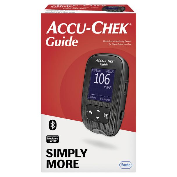 Accu-Chek Guide Blood Glucose Monitoring System - 1 EA