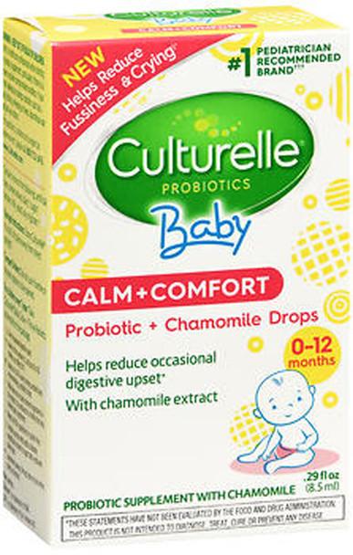 Culturelle Baby Calm + Comfort Probiotic + Chamomile Drops - .29 oz