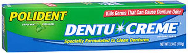 Polident Dentu-Creme Denture Cleaner - 3.9 oz